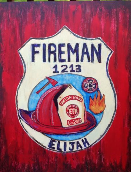 Award Winning Sculptor Patty Hillman Sculptures Paintings Fireman Fire Palm Coast Florida Flagler County Art League FCAL St. Augustine Art Association