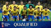 Brazil is qualified for the 2018 Fifa World Cup in Russia