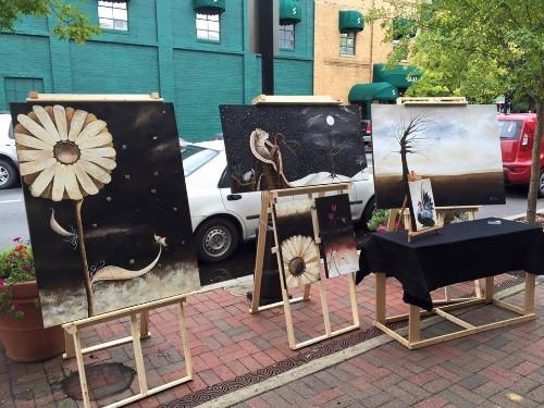 Marietta Square Art Walk ~ October 2015