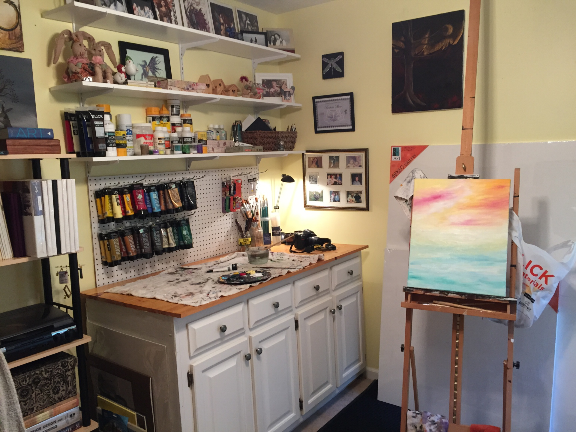 Art Studio Organization
