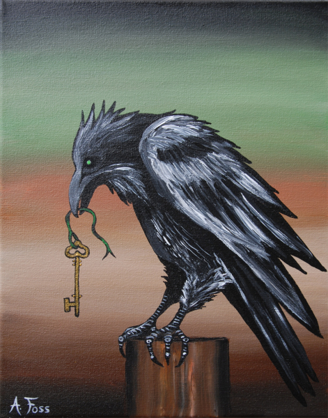 """""""She Holds The Sacred Key"""""""