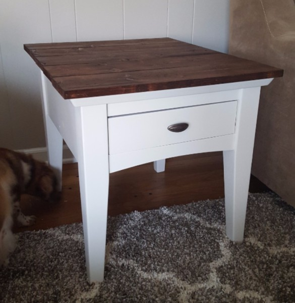 End Table Update