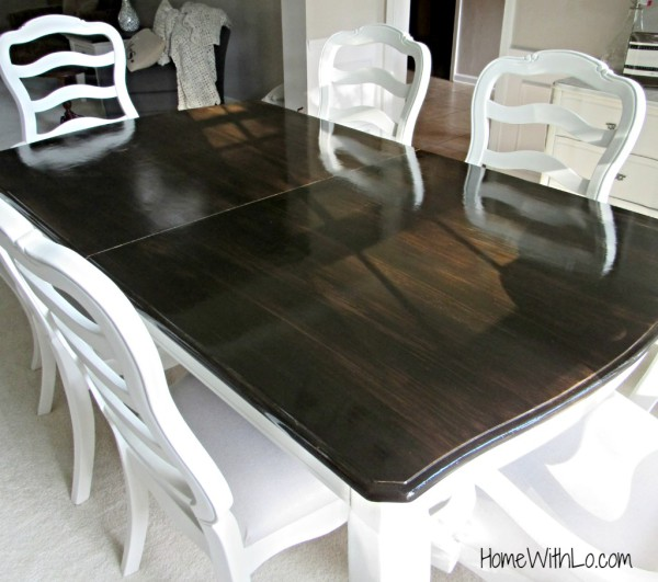 Refinishing a Table Top