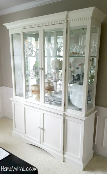 Painting a China Cabinet