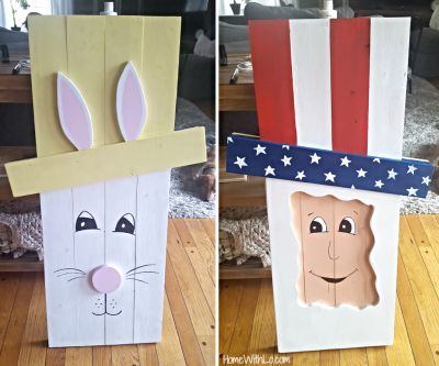 Reversible Bunny/Uncle Sam