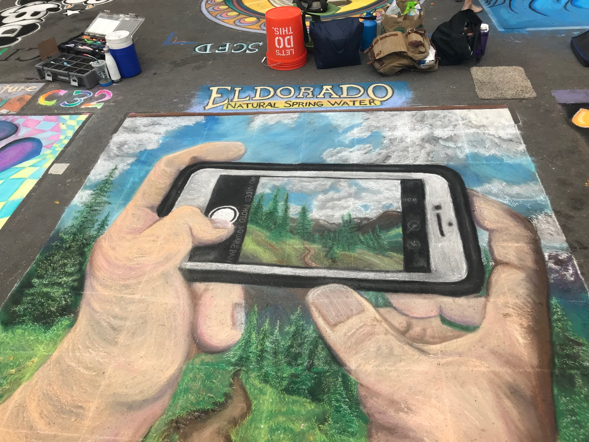 Denver Chalk Art Festival 2018