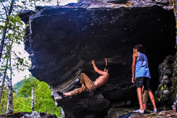 Bouldering eagle pass