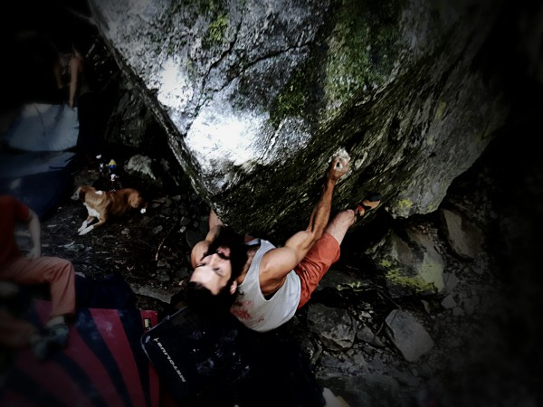 Victor Lake Boulders, Revelstoke BC