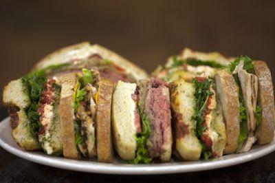 Sandwich Platter Lunch