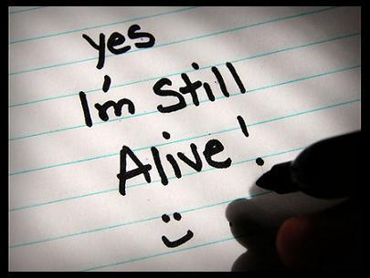Are you alive? Or just living.