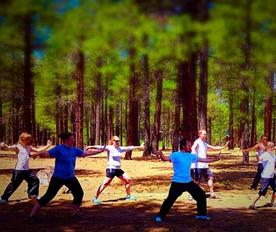Tai Chi program image, Tai Chi at the Coconino Fair Grounds, Flagstaff, AZ