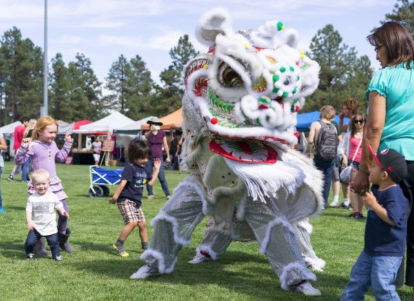 Lion Dance schedule image - Sacred Mountain Lion Dance Team at NAU Chinese New Year Celebration