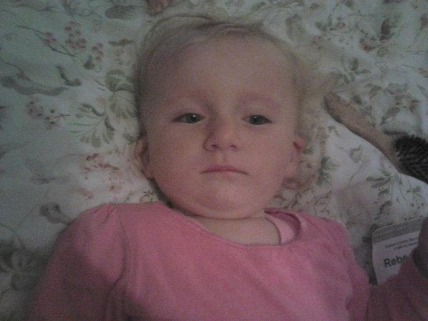 Poppy as a baby