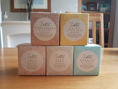 Zoella Lifestyle Candles