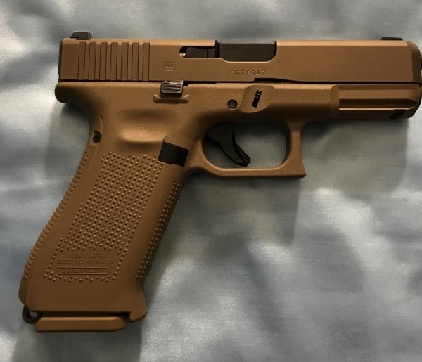 Glock 19X, night sights, 1-17rd, 4-19rd $675