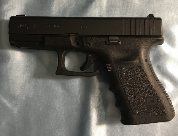 Gen 3 Glock 19 with Night Sights, 9mm, $475