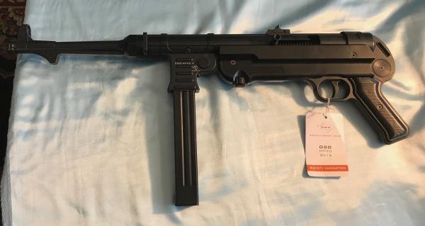 German Sport Guns MP-40, NiB, 9mm FUN!  $600