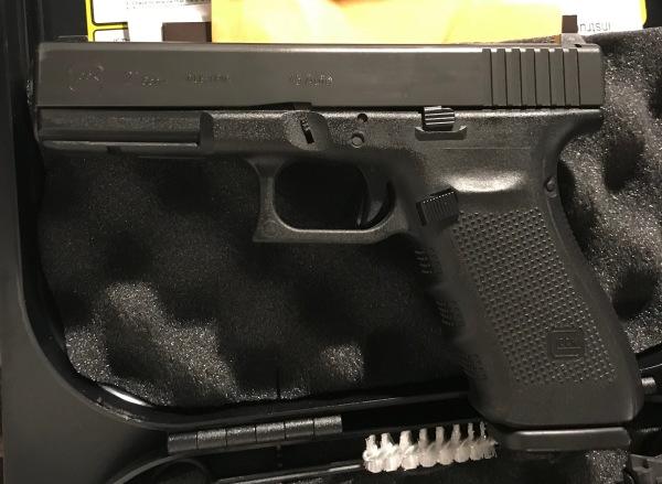 Gen4 Glock 21, 45acp, Night Sights, $465, some holster wear.