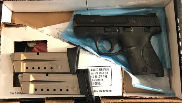LNiB Smith & Wesson M&P Shield in 9mm, $350