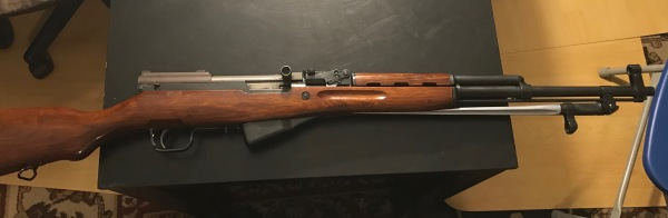 Norinico SKS, matching numbers, bayonet, $425
