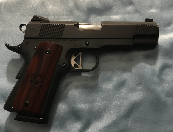 BEAUTIFUL Caspian Commander, .45acp, $1550  SALE! $1400!!!