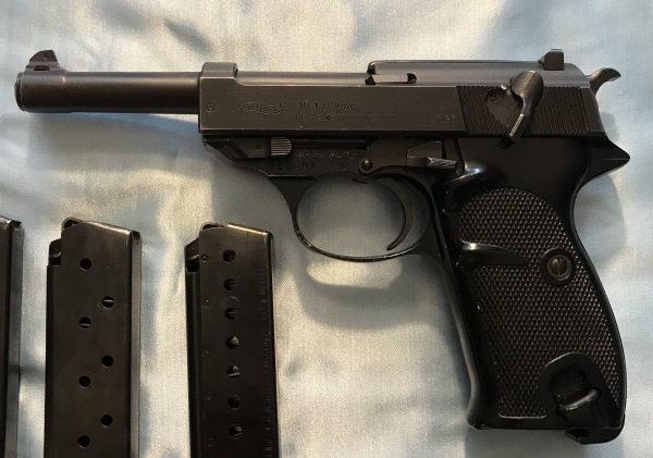 1972 Walther P38, 9mm, 3 mags, $750  SALE! $675!!!