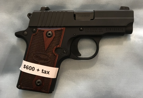 Sig P238 Night Sights .380  $600  SALE! $540!!!!
