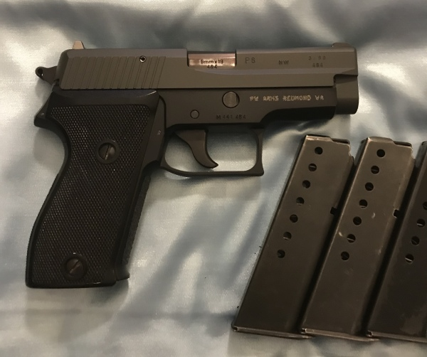 Rare! Sig P6 NOT 225, 9mm $800  SALE! $725!!!