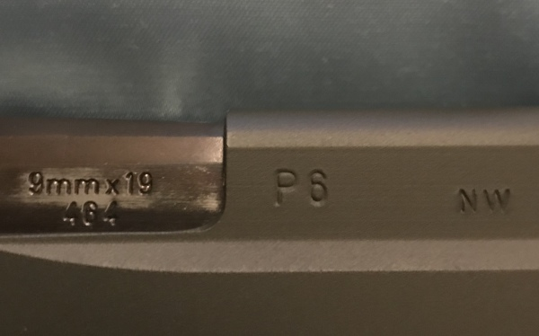 Rare! Sig P6 NOT 225, 9mm $800  SALE! $725!!!