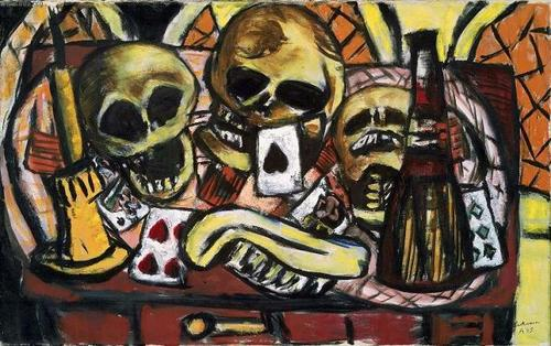 Drugs and Gambling - Max Beckman