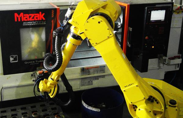 Mazak robotics