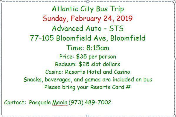Atlantic City Bus Ride