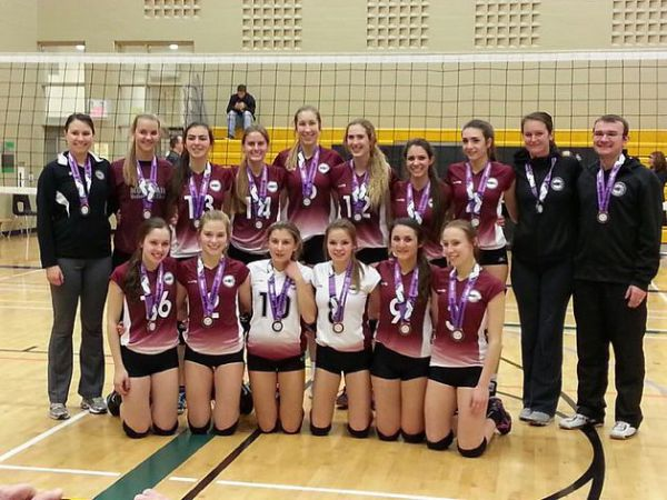 18U Girls Provincial Cup – Trillium B - Bronze for 17U