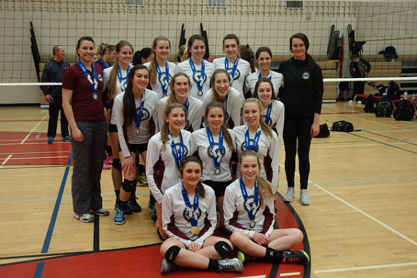 Gold for MVC 17U at 18U Trillium B