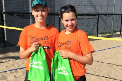 Two silvers in the sand for MVC