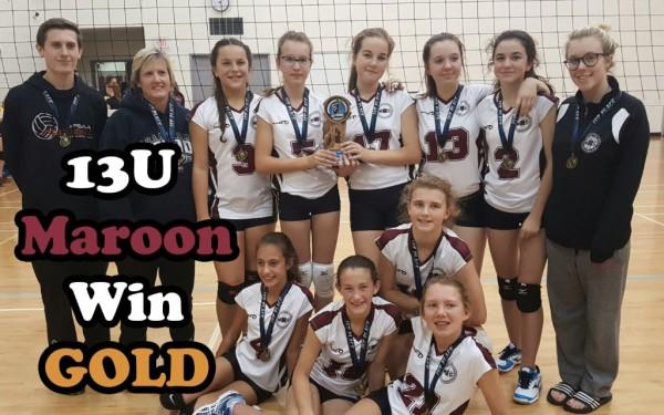 GOLD for MVC 13U Maroon at Smash Invitational