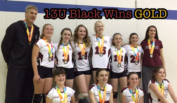MVC 13U Black Wins Gold at Exhibition Tournament