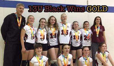 MVC 13U Black Wins Gold at Exhibition Tournament