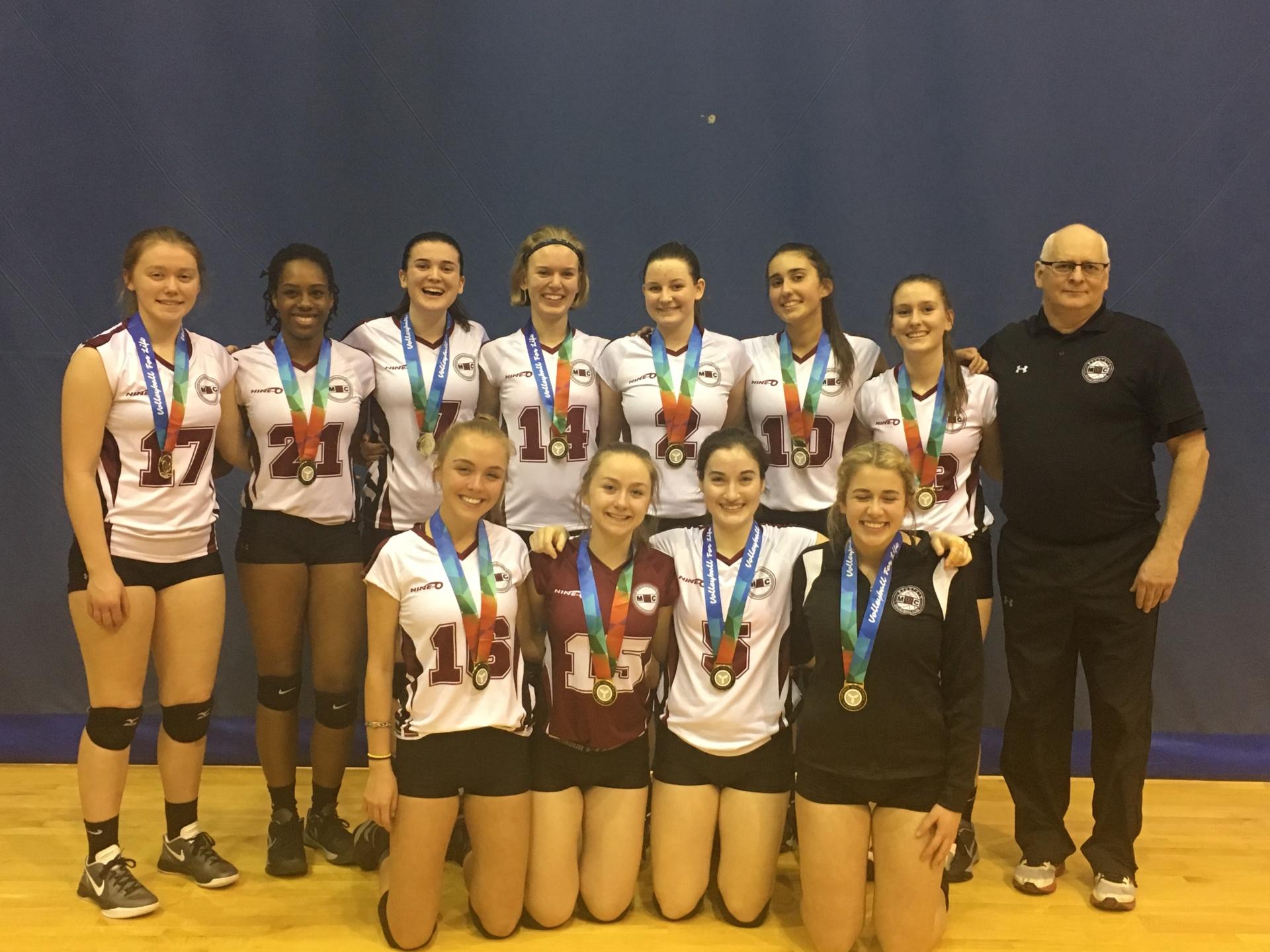 17U Gold Medallists at 18U McGregor Cup - Trillium