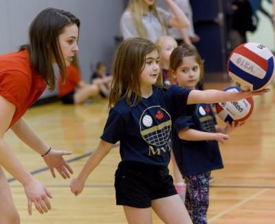 MVP VolleyTotz in Action!