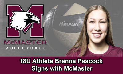 18U Athlete Brenna Peacock Signs with McMaster