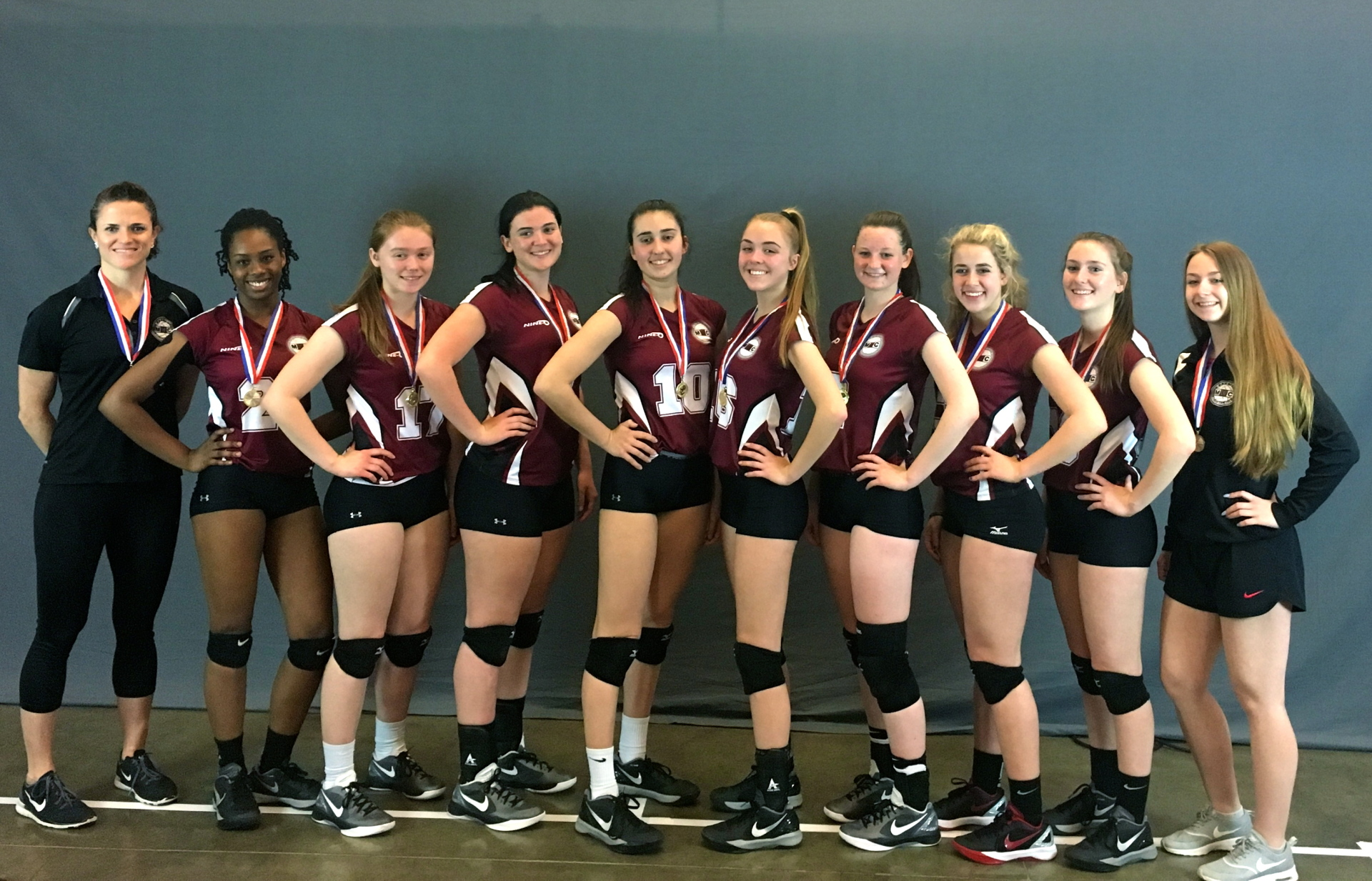 17U Gold Medalists in the Emerald Division at East Coast Championships