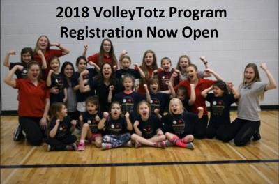 2018 VolleyTotz Program Registration Now Open