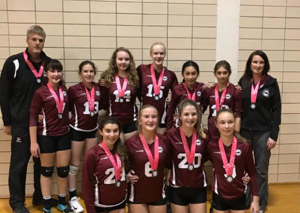 MVC 14U Black dons silver at OVA 14U Girls Provincial Cup