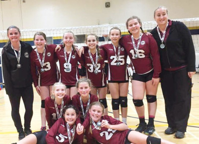 MVC 12U team wins silver at Niagara Rapids Invitational