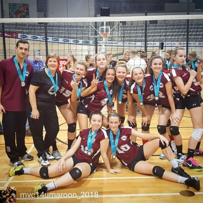 14U Maroon Finish with a Silver at 14U Championship B