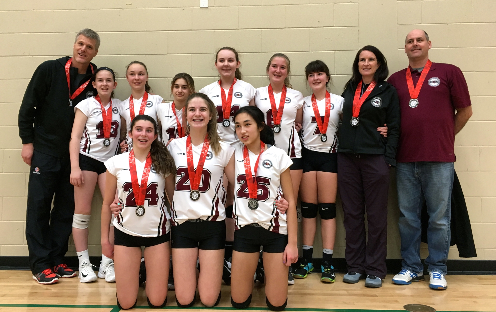 MVC 14U Black Reaches for Silver