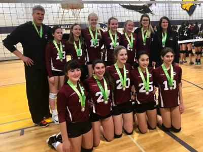 MVC 14U Black Gold Medalists at 14U Bugarski Cup - Select A