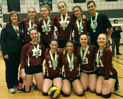 MVC 14U Maroon Gold Medalists at 15U Trillium B