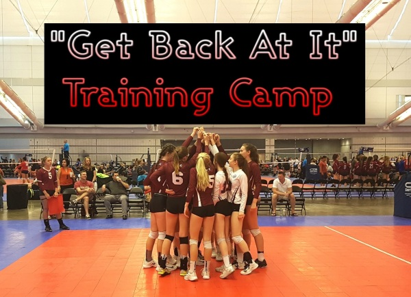 """""""Get Back At It"""" Training Camp - High Performance"""